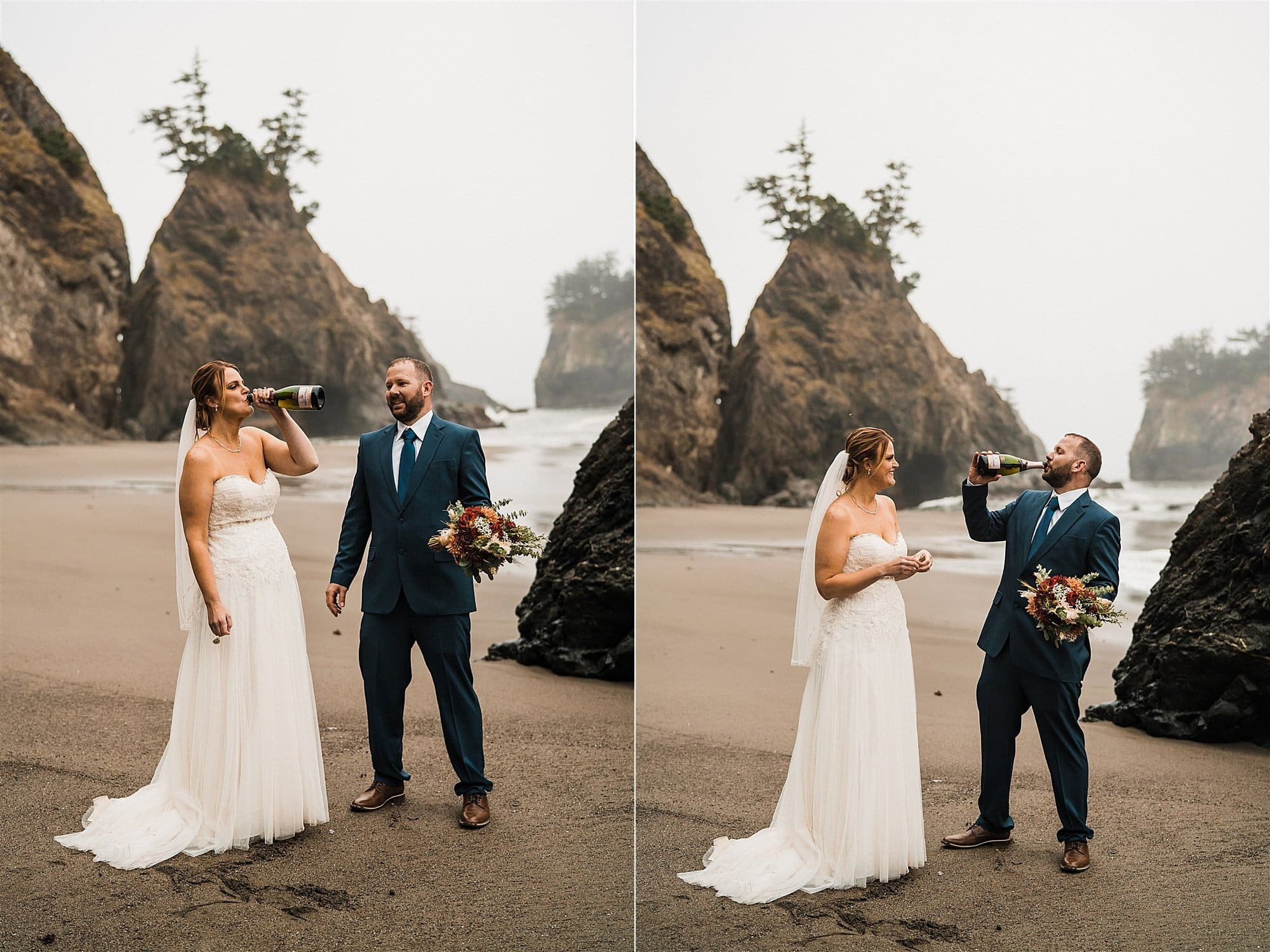 Southern Oregon Coast Elopement