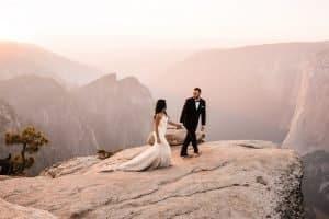 yosemite elopement during wildfires