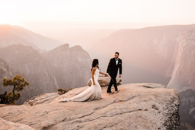yosemite elopement during wildfires
