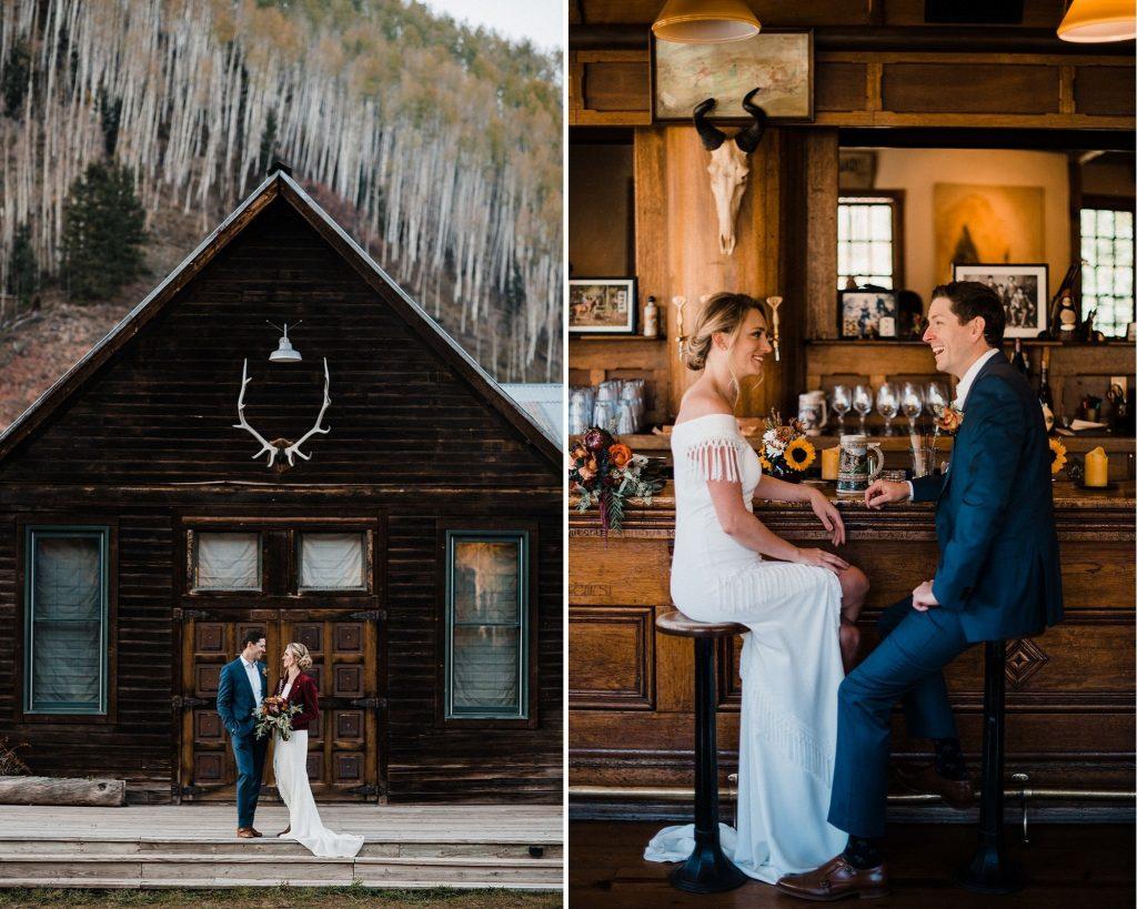 Colorado elopement in dunton hot springs