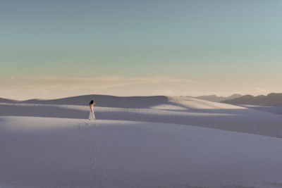 white sands bride adventure outdoor wedding photography The foxes