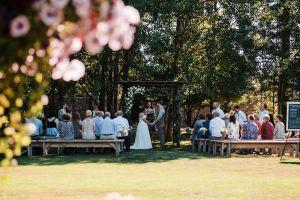 olympic peninsula barn wedding